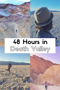 48 Hours in Death Valley: A Guide to this California National Park #nps #nationalpark