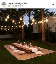 Backyard Birthday, Backyard Picnic, Picnic Birthday, Beach Picnic, Backyard Landscaping, Backyard Party Decorations, Outdoor Parties, Garden Design, Events