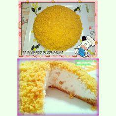 Torta mimosa al Pina Colada ^_^