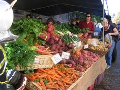 Portland Farmers Market, there's one every day of the week. My fave is at PSU on Saturdays.