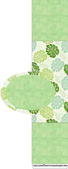 Jungle Leaf Party Printables