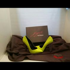 Keyshia Cole x Steve Madden KC-EXCIT Pumps Neon Yellow Pumps * Never Worn * Box included Steve Madden Shoes Heels