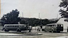1950-es évek. Szépvölgyi út, buszvégállomás. Budapest Hungary, 3, Retro, Travel, Beautiful, Viajes, Trips, Retro Illustration, Traveling
