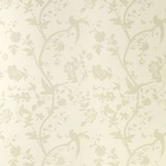 #LauraAshleySS14 Beautiful wallpaper with a gorgeous sheen to catch the light on a feature wall