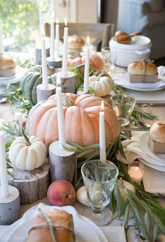 Farmhouse Fall Table