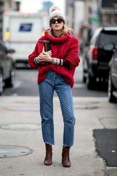 Pin for Later: Retour Sur les Meilleurs Looks Street Style de la Fashion Week de New York Jour 7 Camille Charriere.