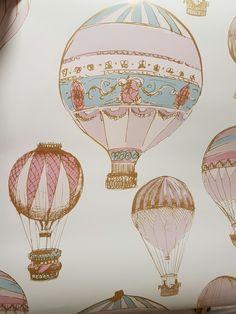 Grandeco Hot Air Balloons Wallpaper At Homebase Be