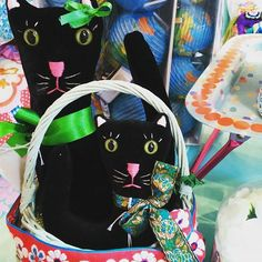 What's new pussy cat. Whats New, Vera Bradley Backpack, Softies, Vintage Inspired, Creatures, Embroidery, Cats, Fabric, Instagram Posts
