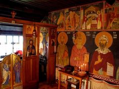The Monastery of St Anthony and St Cuthbert, Shropshire, U.K. Orthodox monastery