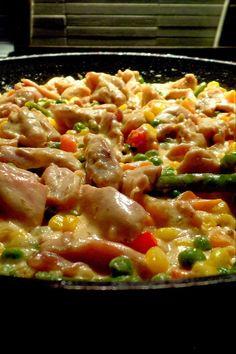 Étel és ital Nail Art d nail artist Meat Recipes, Chicken Recipes, Cooking Recipes, Food Porn, Healthy Recepies, Good Food, Yummy Food, Hungarian Recipes, International Recipes