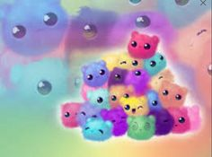 Find images and videos about cute, wallpaper and kawaii on We Heart It - the app to get lost in what you love. Cartoon Wallpaper, Candy Wallpaper, Wallpaper Kawaii, Tier Wallpaper, Animal Wallpaper, Cool Wallpaper, Iphone Wallpaper, Chibi Wallpaper, Pet Anime