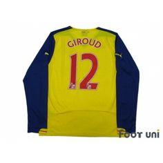 1ae5b314e Photo2  Arsenal 2007-2008 Away Authentic L S Shirt  4 Fabregas  nike ...