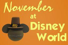 November @ Disney World - weather, crowds, refurbishment schedules & more