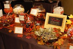 fall candy bar..something to this effect.