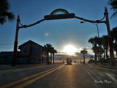 New Smyrna Beach Sunrise http://beachbumrealty.net
