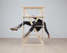 R-1425-3-3T flex shelf by Colin Schaelli.  Best product photo ever.  $750.