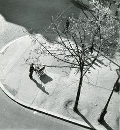 'Man pushing Pram', Paris 1945-52. André Kertész | Eutopia Andre Kertesz, London, Photography, Sports Betting, Big Ben London, Photograph, Photography Business, Photoshoot, Fotografie