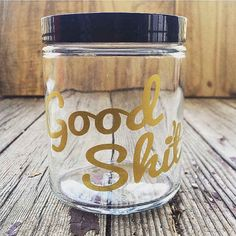 Store all your ~good shit~ in this pretty container. Great gift ideas for the bad ass people in my life.