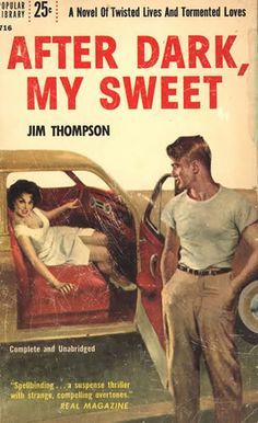 Author Jim Thompson created some of the darkest of pulp crime fiction to ever land between the covers of a greasy paperback left in a two bit diner on a dark rain soaked night. Description from en.paperblog.com. I searched for this on bing.com/images
