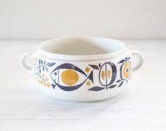 Rörstrand Invito little serving bowl / Swedish midcentury Modern houseware