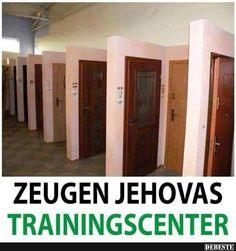 Zeugen Jehovas Trainingscenter | Lustige Bilder, Sprüche, Witze, echt lustig
