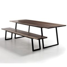 TRAPEZE TABLE - METAL BASE