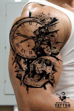 tattoo half sleeve ideas Concept design