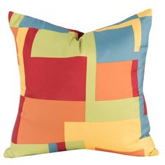 Crayola Painted Box Decorative Pillow