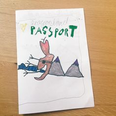 Dragonland passport  #danielkyledraws
