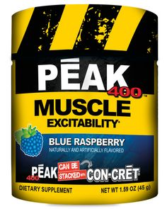 "PEAK-400 may be the best kept secret in sport's supplementation. ""Muscle Excitabilty""-A new category in performance nutrition designed to supply the body its ""Universal Energy Currency"" Adenosine 5'-Triphosphate. It is the most prolific molecule in the body offering a myriad of benefits."