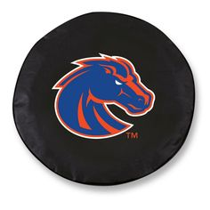 Boise State Broncos Black Tire Cover w/ Security Grommets