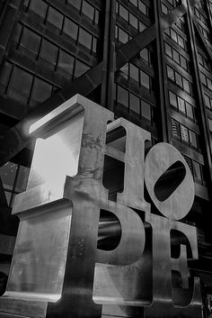 HOPE - by Robert Indiana