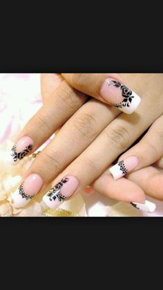Color is very important in any visual designs, so is nail art. Discover top 100 white nail art designs that are actually easy! Lace Nail Art, Lace Nails, Flower Nails, Pointy Nails, Metallic Nails, Acrylic Nail Art, Acrylic Nail Designs, Nail Art Designs, Pedicure Nail Designs