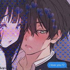 I don't know who edited this, but I love it 3 Anime Neko, Kawaii Anime Girl, Otaku Anime, Anime Kiss, Anime Art Girl, Manga Anime, Cute Anime Profile Pictures, Cute Anime Pics, Cute Anime Coupes