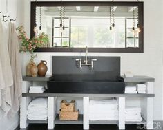 Antique Soapstone Sink