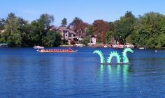 Dragon on the Lake. A Lake Orion Community Festival. Lake Orion Michigan, Boating Holidays, Boat Parade, Fire Breathing Dragon, Dragon Boat, Top Place, Places Ive Been, Community, Explore