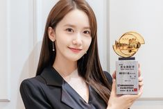 Im Yoon Ah, Acceptance Speech, Yoona Snsd, Prove It, The A Team, Black Suits, Girls Generation, Film Festival, Awards