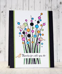 Hello and Happy Monday! Yesterday was a dark, rainy day that allowed for lot& of crafty time. As much as I love the warmer, sunny weath. Making Greeting Cards, Greeting Cards Handmade, Cool Cards, Diy Cards, Birthday Cards, 50 Birthday, Scrapbooking, Christmas Jars, Hero Arts
