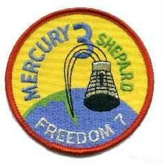 NASA Project Mercury Space Patch Commemorative | Space ...