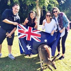Happy #AustraliaDay to all our friends down under! Interested in visiting this breathtaking country? Our Backpack Australia/New Zealand and Australia plus Hawaii programs have you meeting Kangaroos crossing the Sydney Harbour Bridge snorkelling the Great Barrier Reef and much much more! Check out the full itineraries at westcoastconnection.com #strayaday #visitaustralia #sydney #cairns #greatbarrierreef #teentour #adventuretravel #summerofalifetime by wcc360 http://ift.tt/1UokkV2