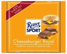 Cheeseburger Royal. Rindfleisch und eine Extraportion Käse