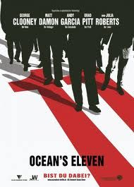 Directed by Steven Soderbergh. With George Clooney, Brad Pitt, Julia Roberts, Matt Damon. Danny Ocean and his ten accomplices plan to rob three Las Vegas casinos simultaneously. George Clooney, Ocean's Eleven, Andy Garcia, Tv Series Online, Movies Online, Brad Pitt, Branding, Neville Brody, Art History