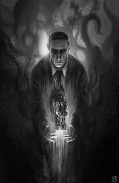 Lovecraft by Richard Luong. Illustration for the project Lovecraft: The Blasphemously Large First Issue.