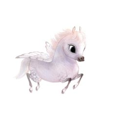 Cutest pegasus illustration by Syd's I