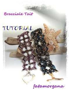 Tutorial to create a bracelet with Silky Beads O by MagichePietre, €6.50 Silky beads  O Beads Superduo Fire Polish  Seed Beads 15/0  Seed Beads 11/0