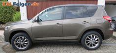 Toyota RAV 4 + DBV Milano Alufelgen in 18 Zoll 18 inch wheel hyperlack