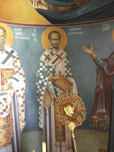 Church Interior, Orthodox Icons, Virgin Mary, Fresco, Saints, Projects To Try, Painting, Interiors, Fresh