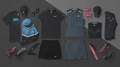 Nike Tennis Collection for US Open 2014: Night Gear for Men