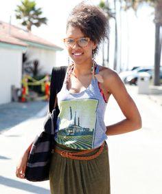 L.A.'s Coolest Oceanside Street Style — From El Porto To El Matador