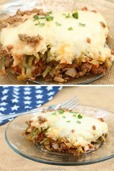 Meatloaf Casserole- THM S/Lowcarb!